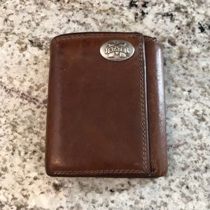 Mississippi State leather wallet.